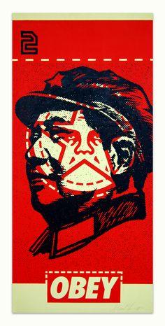 Shepard Fairey meets Mao