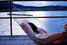 can it get any better than a nap on a hammock by the water? Weekender, Dont Forget To Smile, Don't Forget, Relax, Hammock Swing, Just Girly Things, Lovely Things, Random Things, Random Stuff