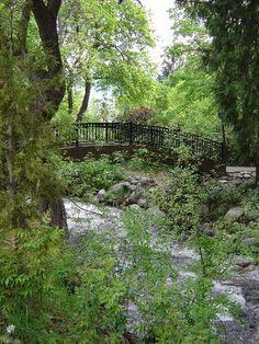 foot bridge at Lithia Park
