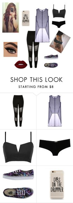 """""""In 3 years"""" by okibeachgurl ❤ liked on Polyvore featuring River Island, Taylor, D&G, Vans and Lime Crime"""