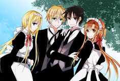 💛Alice,Eugeo, Kirito and me❤️