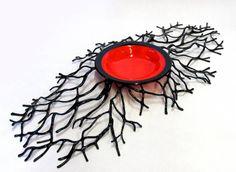 Rick & Tracey Bewley-fused glass from artfusionstudio.com Deve ficar lindo como um relógio e/ou arte de parede