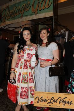 Aly and Toni at the Viva Las Vegas Rockabilly Weekender #Rockabilly