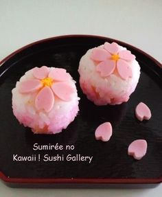 Japanese Food Art, Japanese Sweets, Beste Brownies, Sushi Art, Bento Recipes, Valentines Day Food, Sakura, Food Decoration, Aesthetic Food