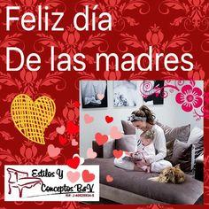 Feliz dia a todas las madres familiares,amigas, en especial ami mami q la amo mucho gracias mi dios por permitirme compartir un dia mas cn ella...TE AMO MUCHO MAMITA... #Estilosyconceptos felicita al ser mas importante  y especial .... a las #madres quienes son las que levantan y forman la #familia de #valores #felizdiadelasmadres #Mayo #Mama #mom