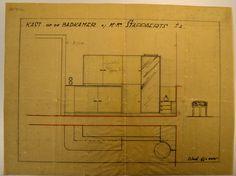 Architect Eduard Van Steenbergen - Complex Van Steenbergen - woning Stappaerts - kast voor badkamer - Tentoonstellingswijk
