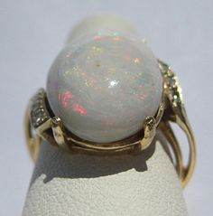 Incredible Large Antique Australian Opal by AawsombleiJewelry