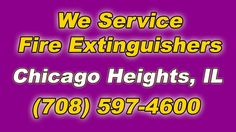 Fire Extinguisher Service Near Me Chicago Heights Illinois Businesses (708) 597-4600 Is it time for your Annual Fire Extinguisher Service and Maintenance? ...