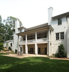 Back side is a beauty too. Hedgewood custom home. Building Design, Custom Homes, Beautiful Homes, Outdoor Living, Custom Design, Exterior, Mansions, House Styles, Beauty