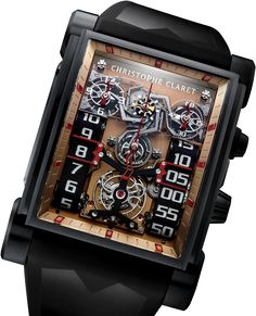 Christophe Claret watches, absolutely obsessed with deconstruction & industrial time pieces for fall 2014!