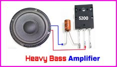 Hii this amplifier circuit is too good. Electronics Mini Projects, Sony Electronics, Electronics Basics, Electronic Circuit Projects, Basic Electrical Wiring, Electrical Projects, Car Audio Installation, Diy Amplifier, Wireless Home Security Systems