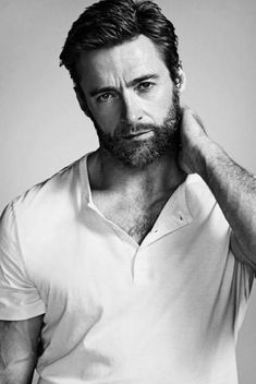 'Wolverine is the backbone of my career': Hugh Jackman on how the clawed superhe. - 'Wolverine is the backbone of my career': Hugh Jackman on how the clawed superhero changed his - Hugh Wolverine, Wolverine Hair, Gq Australia, Beard Humor, Mode Masculine, Attractive Men, Beard Styles, Haircuts For Men, Gorgeous Men