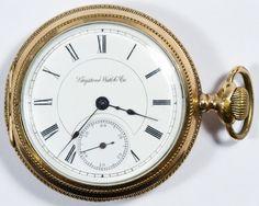 Lot 387: Keystone Watch Co. Gold Filled Side Wind Pocket Watch; 1890, serial #36742, 15-jewel stem wind movement