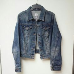 "Beautiful Denim Jacket Super cute women's denim jacket. Excellent condition. Like new. Worn once. Very well cared for. It's JCP brand from JcPenney.  Armpit to Armpit 19"" inches Shoulder to Hem 20"" inches Sleeves 25"" inches jcpenney Jackets & Coats Jean Jackets"