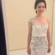 素敵♡♡♡ ドレスは @thesweetcloset ♡♡♡#rumi_ヘアアレンジ #rumiweddinghairarrange