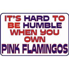 flamingo sign...