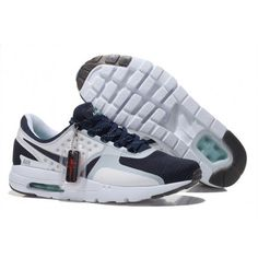 the latest 77af1 6d20c Mens Womens Nike Air Max Zero 87 Midnight Navy White Obsidian Cheap  Sneakers, Jordans Sneakers