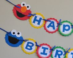 Sesame street birthday party characters elmo por caspermicks