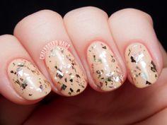 OPI Gaining Mole-mentum - Chalkboard Nails