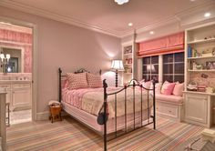 +Bookcase +window +seat +bedroom Design Ideas, Pictures, Remodel, and Decor - page 39 Girls Bedroom Furniture, Kids Bedroom, Bedroom Decor, Bedroom Ideas, Lego Bedroom, Bedroom Images, Kids Rooms, Big Girl Bedrooms, Little Girl Rooms
