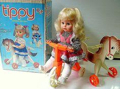 Boneca Tippy - Estrela - Brasil - 70's