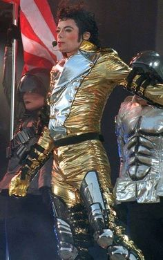 Michael Jackson. He is so hot in this picture!