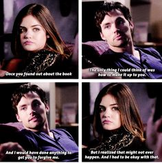 """S5 Ep4 """"Thrown from the Ride"""" - Aria and Ezra"""