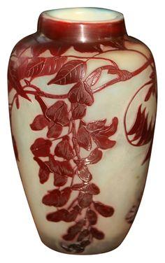 Émile Gallé: Vase Emile GalléMore Pins Like This At FOSTERGINGER @ Pinterest