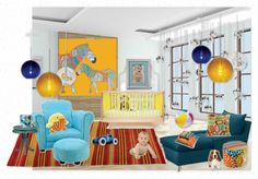 Baby Nursery by Michelle Monaghan