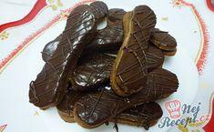 Likérové jazýčky v čokoláde Christmas Candy, Christmas Cookies, Amazing Cakes, Food And Drink, Sweets, Chocolate, Ethnic Recipes, Weddings, Blog
