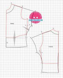 Resultado de imagen para moldes blusa manga japonesa