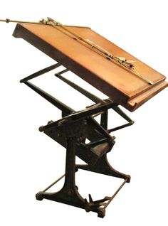 Industrial architect's drawing table: Architectural Salvage Online Store, Buy Altered Antiques | OGTstore.com