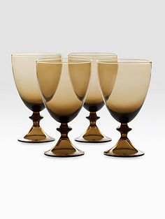 Diane von Furstenberg glass ware set