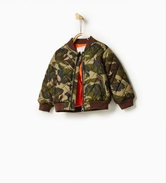 Camouflage bomber jacket-OUTERWEAR-BABY BOY | 3 months-4 years-KIDS | ZARA United Kingdom