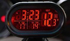 Tractari-Auto-Constanta.ro: De vanzare-Voltmetru digital+ceas+termometru inter...