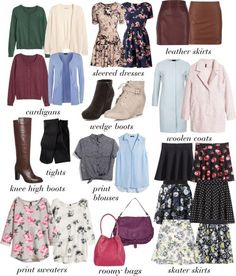 basics of Lydia martin wardrobe