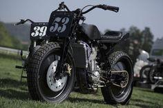 """""""PlutO"""" Flat Track - El Solitario Mc - Zaeta #motorcycles #flattracker #motos   caferacerpasion.com"""