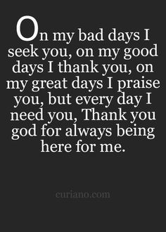 *God :) Thank you my