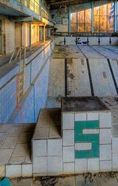 Public Indoor Pool at Pripyat.