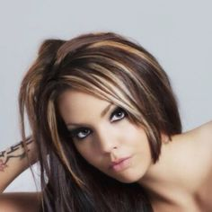 Highlights and Make up, so pretty