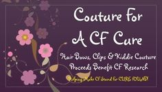 Help fight the battle against Cystic Fibrosis. And get your child something extra cute while you're at it!