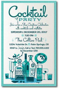 Unique & Stylish Designs for the Retro Modern Enthusiast! Wedding Invitation Text, Cocktail Party Invitation, Business Invitation, Holiday Party Invitations, Elegant Invitations, Digital Invitations, Invitation Wording, Shower Invitations, Invitation Examples