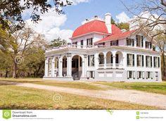Kensington Mansion, South Carolina Royalty Free Stock Photography ...