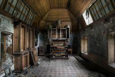 Abandoned Organ Room