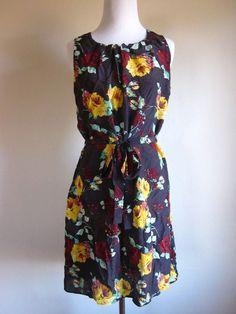 Ella Moss Silk Floral Dress size S #EllaMoss #Sundress #Casual