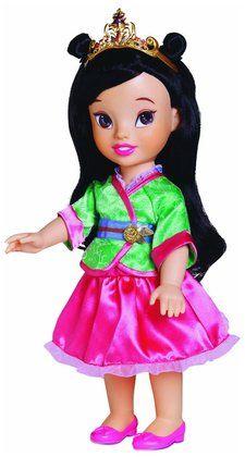 My First Disney Princess Toddler Doll - Mulan