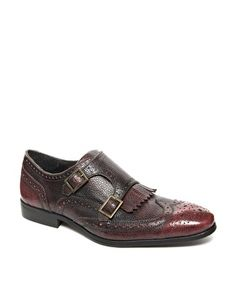 ASOS Brogue Shoes With Fringe Detail
