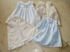 Sewing set: PATRÓN 4: VESTIDO CORTE IMPERIO PARA BEBÉS Y NIÑAS... Sewing For Kids, Baby Sewing, Baby Girl Boutique, Girl Closet, Dress Tutorials, Heirloom Sewing, Sewing Basics, Couture, My Baby Girl