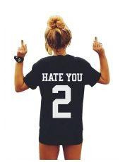 Kingfansion Women Ladies Summer Short Sleeve T-Shirt Sport Shirt Tops Blouse (S) Harajuku, T Shirt Sport, Hip Hop, Blank T Shirts, Tee Shirts, Polo Shirt, Thing 1, Print Shorts, Casual T Shirts