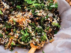rice salad with nuts and sour cherries // plenty more // yotam ottolenghi Yotam Ottolenghi, Ottolenghi Recipes, Grain Salad, Sour Cherry, Rice Salad, Dried Cherries, New Cookbooks, Serious Eats, Wild Rice